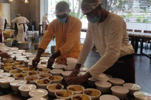 CIL distributes free food to the underprivileged in India