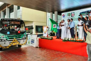 Tata Motors Delivers India's First LNG Buses