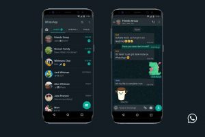 WhatsApp launches Dark Mode feature for both iPhone & Android