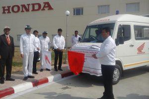 CSR: Honda India Foundation gives Honda engine