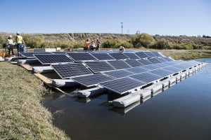 BHEL Tenders for BOS Works for 22 MW Floating Solar Plant for NTPC