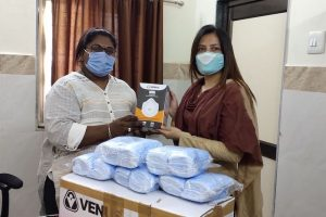 CSR: Hitachi Air Conditioning India Supports COVID Warriors in Gujarat