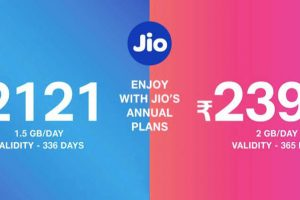 Reliance Jio launches 2,399/- annual data plan for 'work from home'