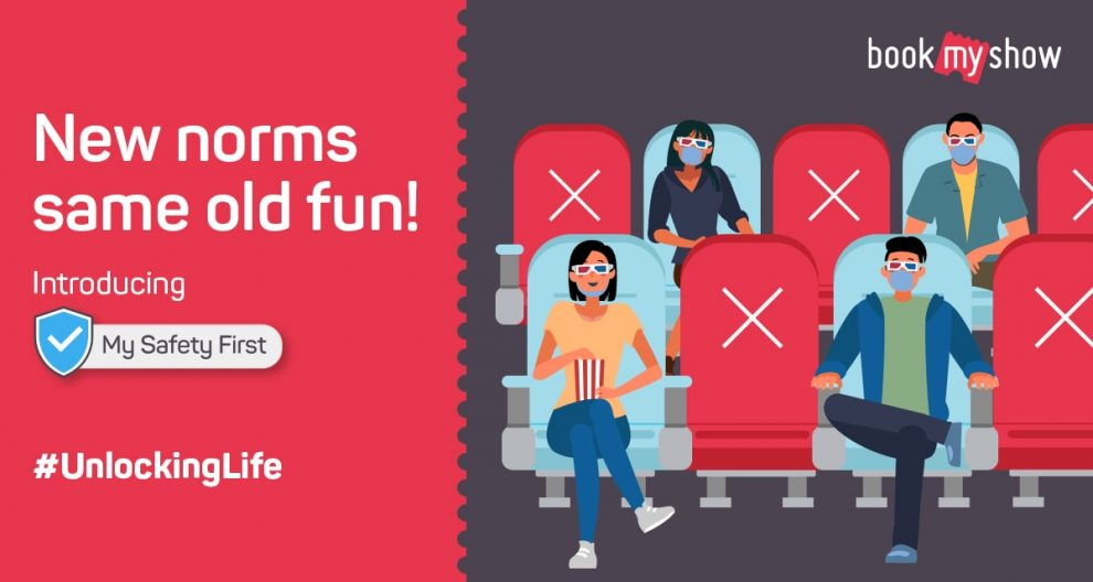 CSR: BookMyShow introduces 'My Safety First', safety shield