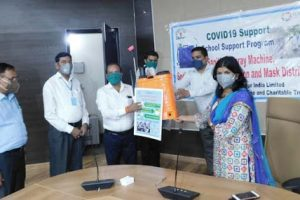 CSR: Dabur helps make 15 Govt. Schools in Uttarakhand COVID-Safe