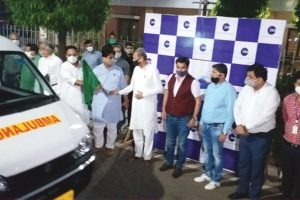 CSR: ZEEL donates 20 ambulances, 4000 PPE kits to Rajasthan