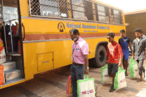 NALCO handed over 1000 dry ration kits to Collector