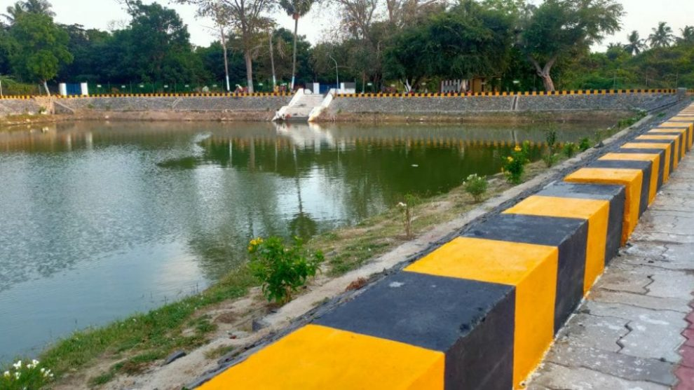 CSR: Grundfos India and nonprofit EFI restore mid-sized pond in Chennai