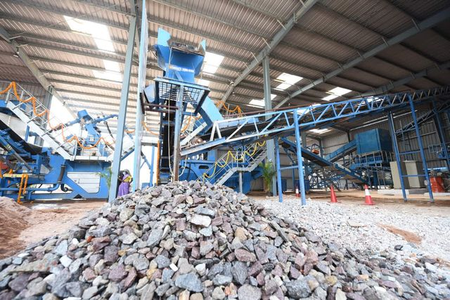 Ramky Enviro opens Construction & Demolition waste recycling plant