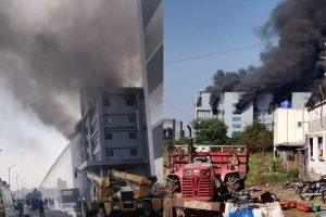 Fire breaks out at Serum Institute of India's plant in Pune