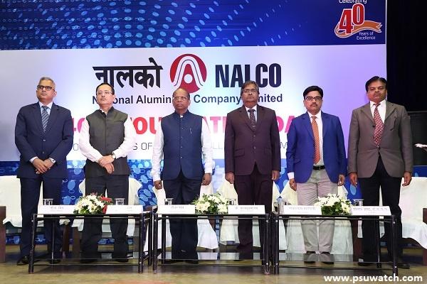NALCO celebrates its 41st Foundation day