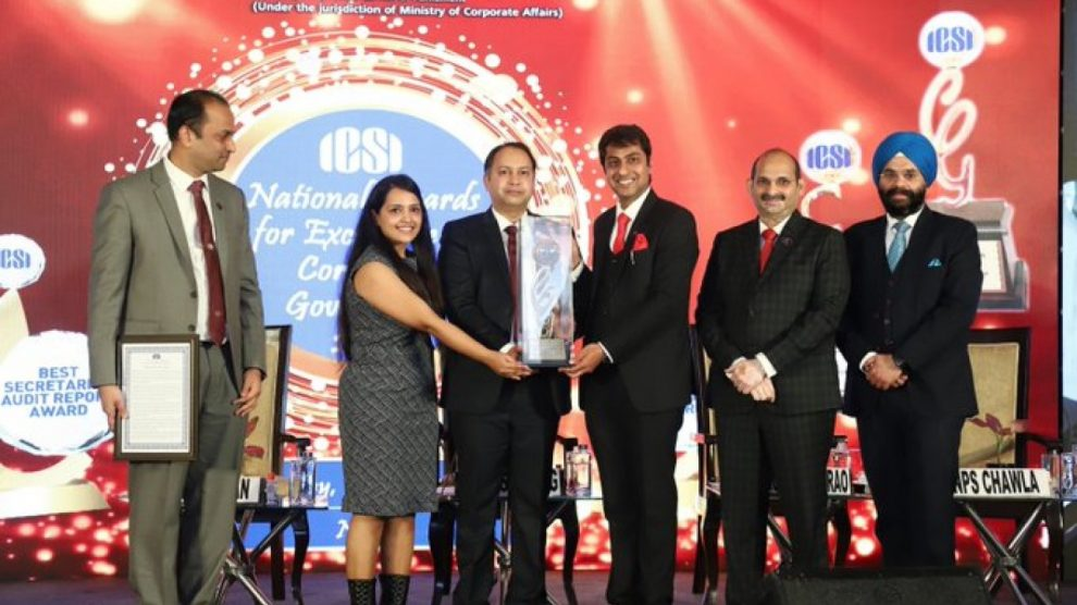 Vedanta TSPL wins ICSI National Awards for 'Excellence in Corporate Governance