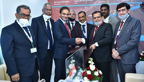 BEML signed MoUs to explore & enhance the business in Defence & Aerospace