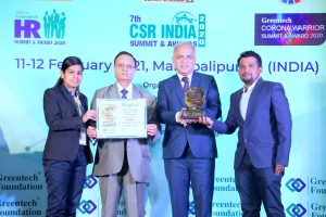 Vedanta Jharsuguda begs 3 Greentech Awards
