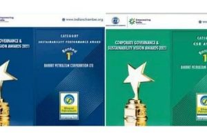 BPCL ranked No. 1 under category of Sustainable Performance & CSR Activities