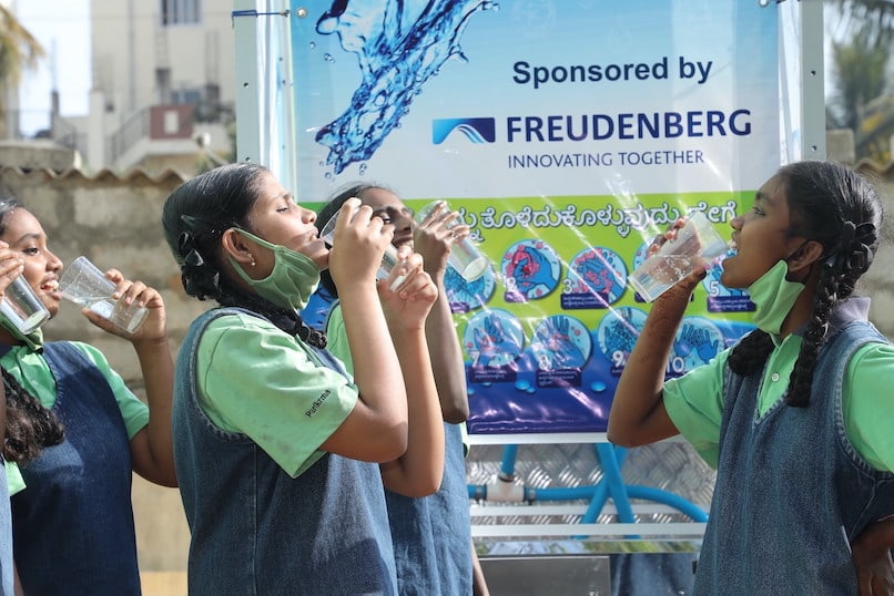 CSR: Freudenberg India Facilitates Clean Drinking Water for over 500 Students
