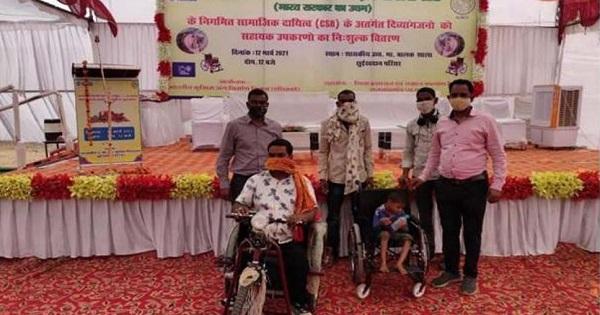 PowerGrid effort towards Divyangjans, distributed assistive devices under CSR