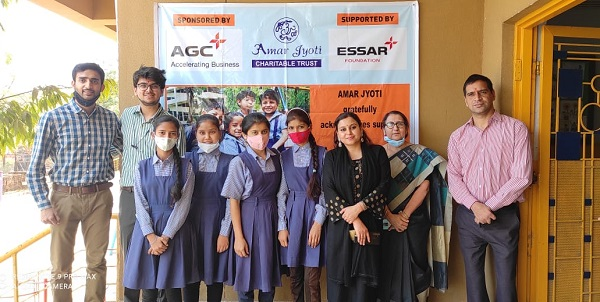 Essar Foundation & AGC Networks jointly supports multiple noble initiatives