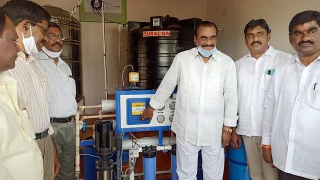 Nava Bharat Ventures installs 2 RO plants in villages under CSR