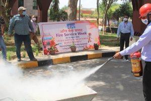 NHPC observes Fire Service Week