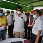 Coal India Chairman Shri. Pramod Agrawal visits BCCL at Dhanbad