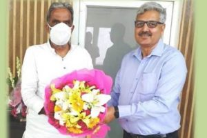 CMD, NHPC meets Minister of State for Power and Heavy Industries