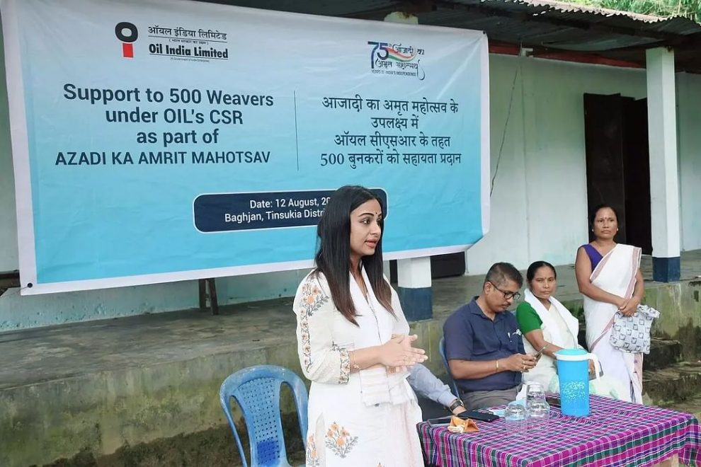 Awareness drive by OIL for women weavers