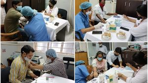 NBCC organised free health camp at its zonal office