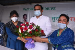 CSR: ChildFund India & HSBC India launch a large-scale vaccination drive
